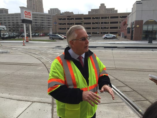 M-1 Rail Chief Operating Officer Paul Childs leads