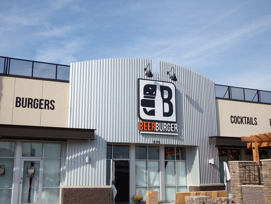 Beer Burger in North Liberty on Nov. 11, 2016.