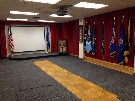 Media room at the Enlisted Heritage Hall on Gunter