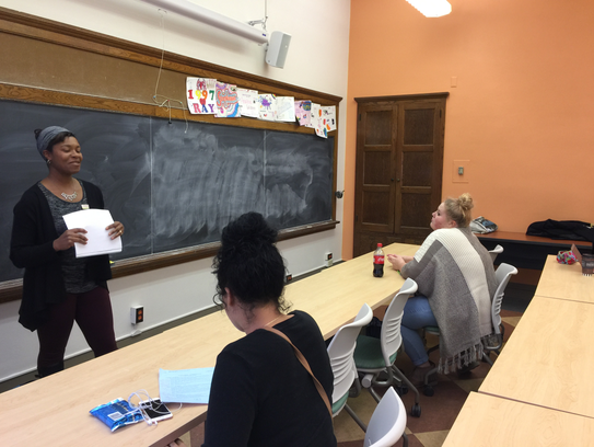 Tanya Keenan teaches English composition at Mount Mary