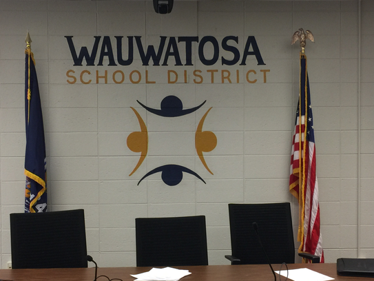 Wauwatosa School Board Room in the Fisher Building,