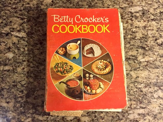 "The 1973 printing of the famed ""Betty Crocker's Cookbook"""