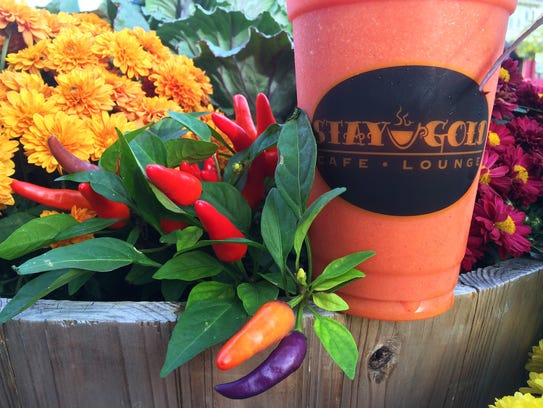 Stay Gold Cafe in Belmar serves juices, smoothies and