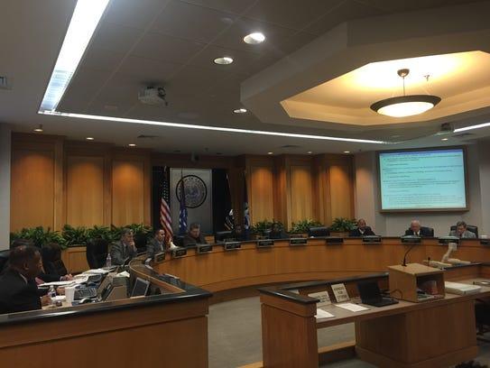 The Caddo Parish Commission will hear a resolution