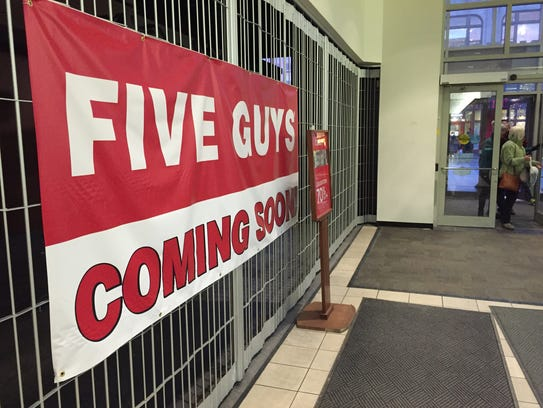 A banner announces the impending arrival of a Five