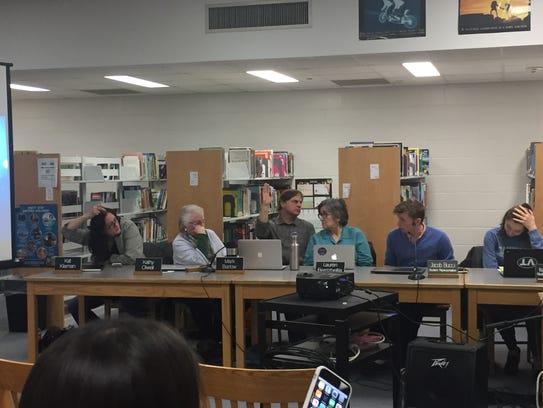 Burlignton's School Board votes after a three hour