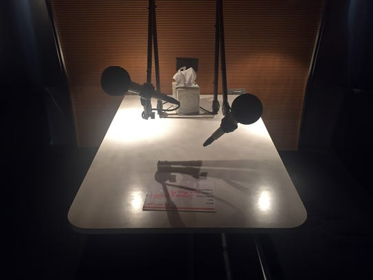 StoryCorps staff record human stories in this nook
