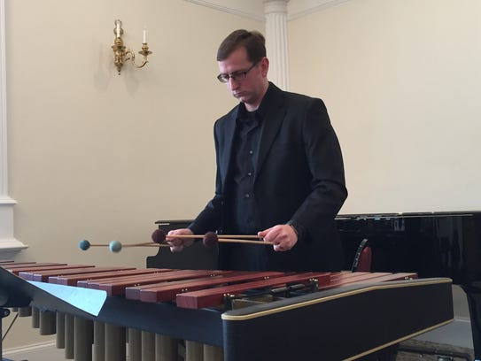 Hanover Symphony Orchestra conductor Timothy Bupp performs