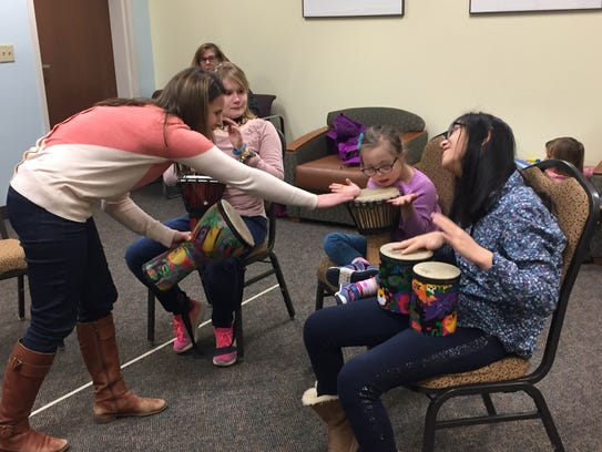 Music therapy at JCC STARS program