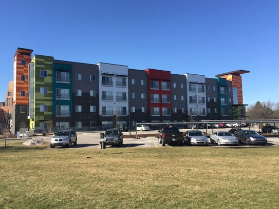 The $8.5-million Marketplace Apartments first opened