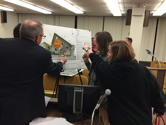 Testimony at a Millville Planning Board hearing Tuesday