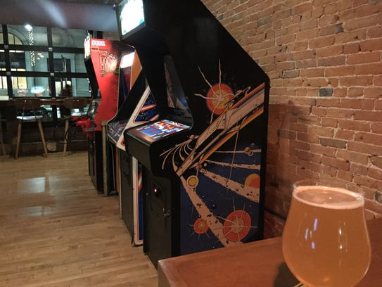 Beer and video games await at The Archives in Burlington.