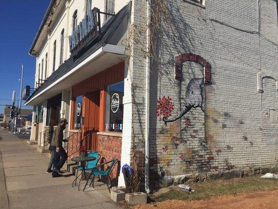 Patina Coffeehouse, located at 610 Washington St.,