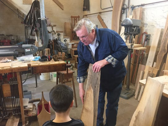 Jeff Parsons explains how he turns lumber into furniture
