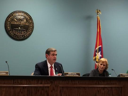 Current Robertson County Schools Director Mike Davis