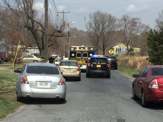 Maryland State Police investigating a home in Willards