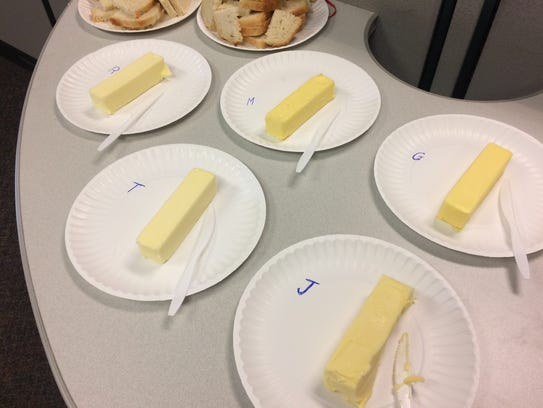 As you can see, I spared no expense to conduct my butter