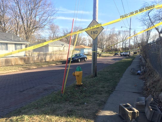 Police said a man was found fatally shot in the 1200