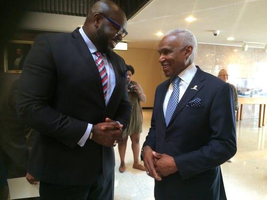 Former Memphis and Shelby County Mayor A C Wharton,
