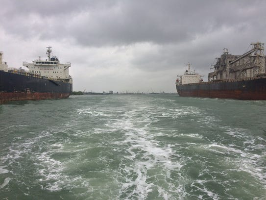"""The Port of Corpus Christi has long maintained it needs to deepen and widen its ship channel to better handle growth in the coming years. Doing so, they also, will eventually allow """"two-way"""" vessel traffic in and out of the narrow channel."""
