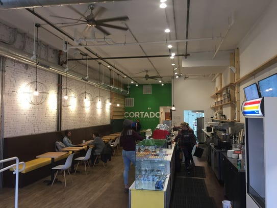 Cortado Coffee and Cafe in Iowa City on April 5, 2017.