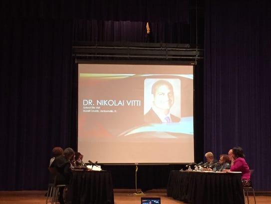 A picture of Nikolai Vitti, whom the Detroit school
