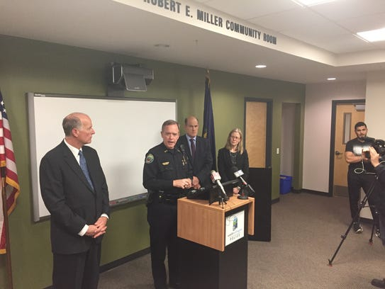South Burlington Police Chief Trevor Whipple tells