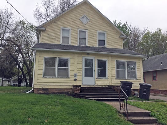 The house at 1332 Boyd St. in Des Moines, now part