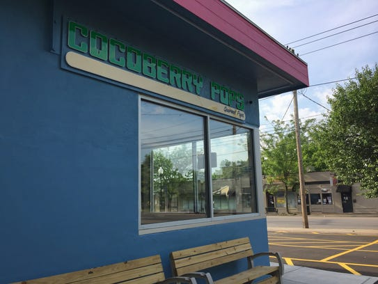 Cocoberry Pops opened at 323 W. Woodlawn Ave. in the