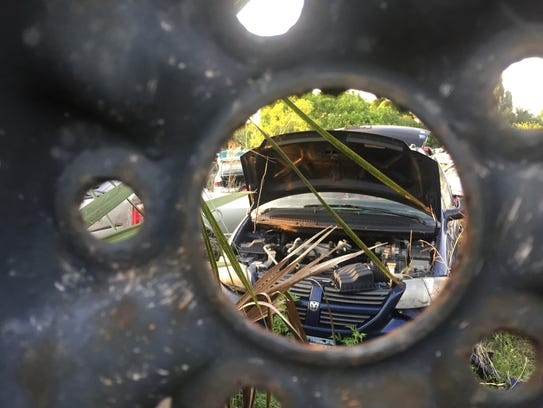 Affordable Auto Salvage is grandfathered in for zoning