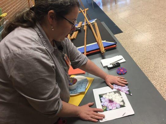 Ann Bien, an art teacher at Millville Memorial High