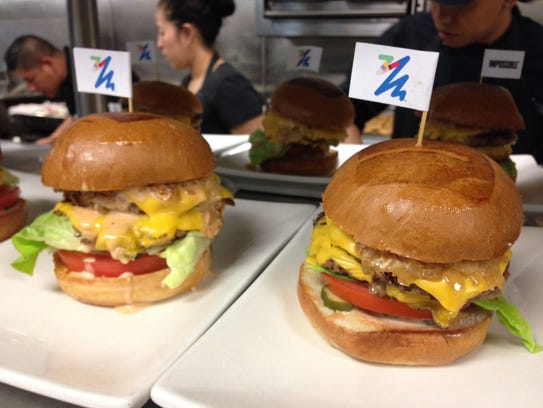 The Impossible Burger is now sold at nine Umami Burger