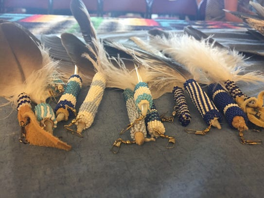Eagle feathers are given to Natives for individual