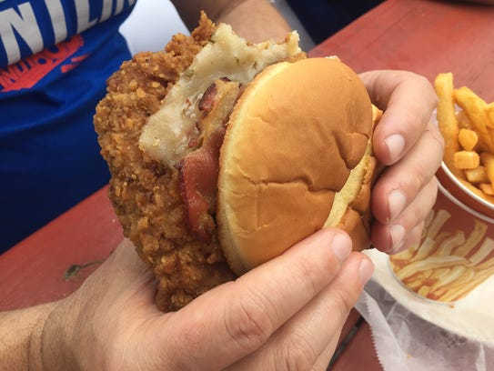 Breaded tenderloin is the classic Indianapolis 500