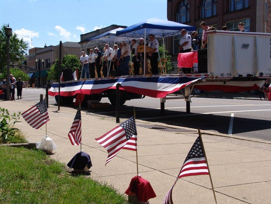 The Coshocton Memorial Day Parade will start at 10 a.m. Memorial Day and go down Main Street, with a service to follow at the Coshocton Court Square.