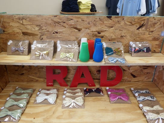 Items for sale at RADInc. in Iowa City on June 1, 2017.