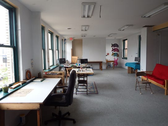 The second floor of RADInc., which serves as a shared