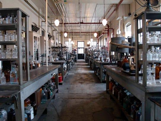 Thomas Edison's Chemistry Laboratory at the Thomas