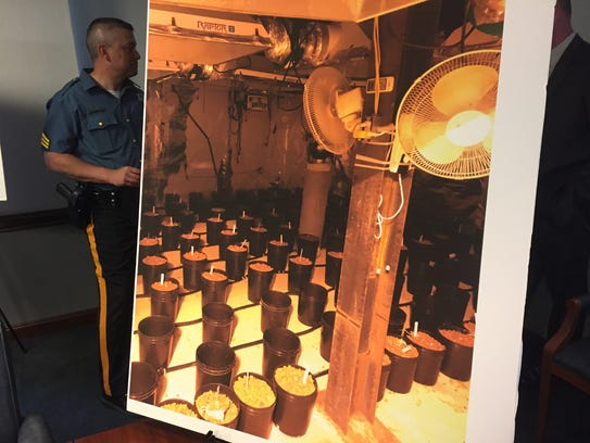At a June 2017 news conference, authorities showed photos of an underground drug bunker discovered in Bear that was owned and operated by a man they accused of participating in a cross-country drug smuggling operation.