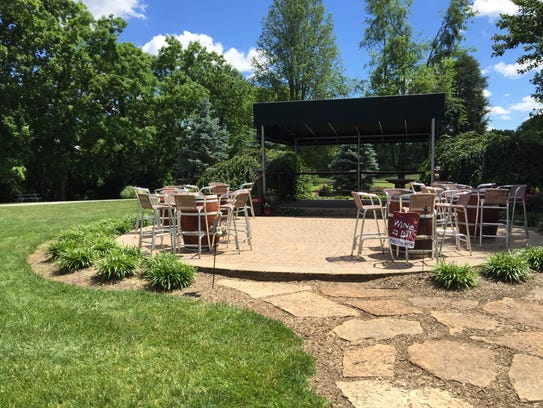 A stage and dance floor provide plenty of room for