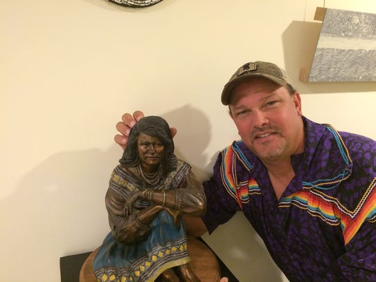 Sculptor Bradley Cooley Jr. will be carrying on the