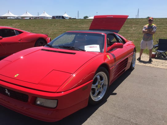 This 1991 Ferrari 348TS is owned by Joe Pistono of