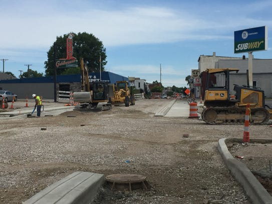 Ragle Inc. is the lead contractor on the North Main