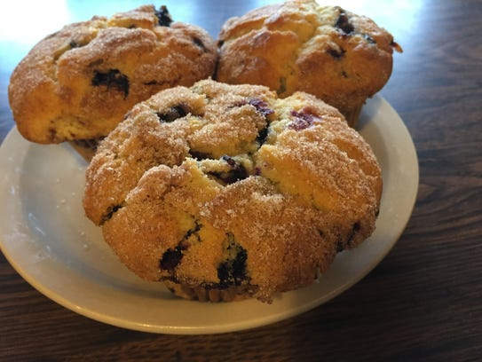 Thunder Muffins at Persimmon Hill Farm are a must try