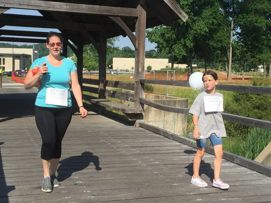 Local residents participated in the 14th annual Walk