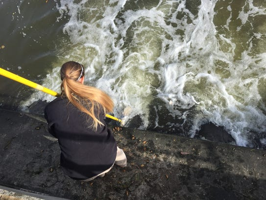 Autumn Fisher, supervisor for the Fond du Lac Wastewater