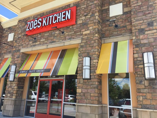 Zoe's Kitchen in Franklin is located on Moores Lane