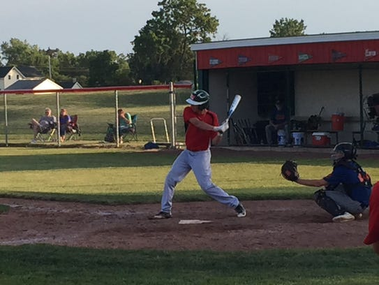 Jake St. Clair had four hits in six at-bats as Oak