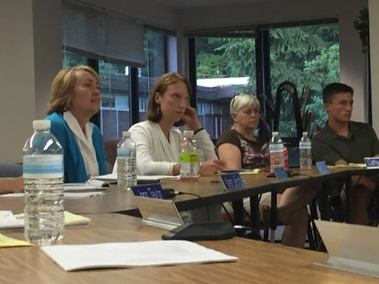 The Milton School Board listened to about two dozen