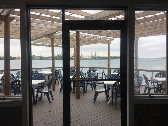 The patio at Lake Fx Grill will be open this weekend,